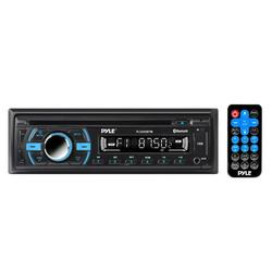PYLE PLCD43BTM - Bluetooth Stereo Receiver [Digital AM/FM Radio System] Wireless Music Streaming Hands-Free Call Answering CD Player MP3/USB/SD/AUX Single DIN