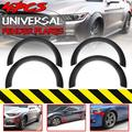4pcs Universal Extra Wide Body Fender Flares Pocket Rivet Wheel Arches Cover 60mm+80mm