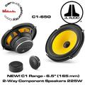 """""""jl audio c1-650 6-1/2"""""""" 2-way component car audio speakers"""""""