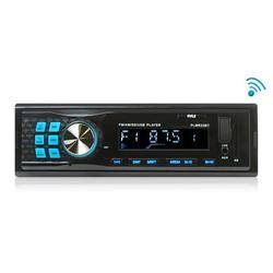 PYLE PLMR22BT - Bluetooth Stereo Radio In-Dash Console Headunit Receiver, USB/SD/MP3 Playback, Aux (3.5mm) Input, AM/FM Radio, Single DIN