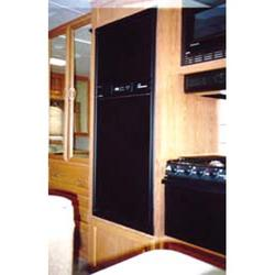 Refrigerator Door Panels - Black Acrylic