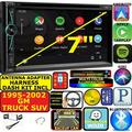 95-02 GM TRUCK/SUV DVD CD TOUCHSCREEN BLUETOOTH DOUBLE DIN CAR STEREO RADIO