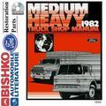 Bishko OEM Digital Repair Maintenance Shop Manual CD for Ford Truck Med Duty, Heavy Duty 1982