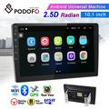 """""""Android 6.0 2 Din GPS Car Stereo Radio 10.1"""""""" HD 1080P 2.5D Tempered Glass Mirror Car MP5 Player with Bluetooth WIFI GPS Radio Receiver Suppport Rear Camera with 8 IR Camera"""""""
