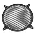 OTVIAP Car Audio Plastic Mesh Cover Woofer Speaker Modification Protect Guard , Speaker Cover Audio, Speaker Cover Black