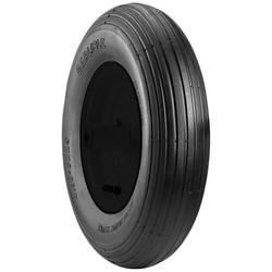 Carlisle Wheelbarrow Tire - 4.80-8 4ply Tubeless (Rim not included)