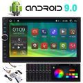 Android 10.0 Car Bluetooth Radio Stereo 7 Inch Touch Screen 2Din Car GPS Radio GPS Navigation in-Dash Car Head Unit with Video Player Autoradio WiFi USB SD Port OBD2 (2G RAM+32G ROM)