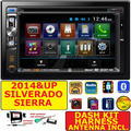 2014 & UP SIERRA SILVERADO DVD CD BT TOUCHSCREEN BLUETOOTH CAR RADIO STEREO