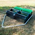 """""""36"""""""" Pull Behind Nut Picker Upper by Bag-A-Nut- Attaches to your mower, ATV or golf cart. For nuts like Black Walnuts, Burr Oak Acorns and even Golf Balls (Large- For Nuts 3 1/4"""""""" to 4"""""""")"""""""