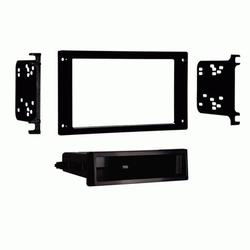 Metra 99-5025 2-Shaft to Single DIN Stereo Dash Kit for 1987-1993 Ford Mustang
