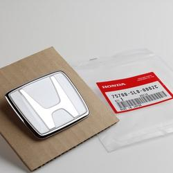 Authentic JDM Genuine OEM Honda NSX R77 91-01 Front Emblem 75700-SL0-000ZC NeutronWht Pearl