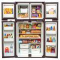 Norcold 1210LRIM Ultraline 4-Door 12 CU. FT. Gas/Electric Refrigerator - Ice Maker Model, Panel Doors