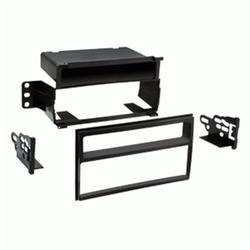 99-7610HG Single/Double DIN Dash Kit with Pocket for 2007-2011 Nissan Versa and 2011 Nissan Juke, Single or Double DIN Dash Kit By Metra