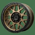 XD Series by KMC Wheels Grenade Or 17X8.5 8X165.10 Matte Bronze W/ Matte Black Lip (0 Mm) Wheel Rim