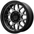 XD Series by KMC Wheels Grenade Or 18X8.5 6X139.70 Matte Gray W/ Matte Black Lip (0 Mm) Wheel Rim