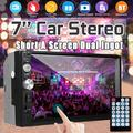 7'' 2 Din Car Stereo Radio MP5 Player bluetooth Head Unit Touch Screen AUX/USB