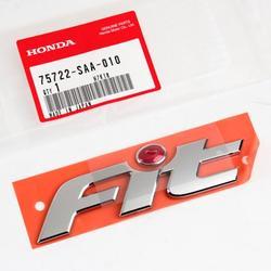 Genuine OEM Honda FIT Emblem Red Dot GD2, 75722-SAA-010