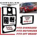 05-07 CHRYSLER 300 CAR RADIO STEREO DOUBLE DIN + SIZE INSTALLATION DASH KIT