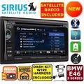 BMW E46 3 SERIES BLUETOOTH TOUCHSCREEN CD DVD USB Double Din Car Stereo Radio
