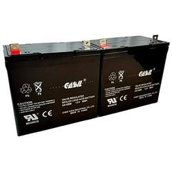 2 Pack 12v 55ah Group 22NF Tempest TR55-12 M22NFSLDG Trecker HS-890 4 Tuffcare Challenger BX 6000 PX 6500 Universal Power Group 45825 Vita S S12S WKA12-55C Xcaliber Power Recliner