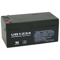 UPG 12V 3Ah Replacement Battery for Toro Lawn Mower 106-8397 Battery-12 Volt