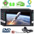 EinCar Free External Microphone + Pure Android 6.0 Car Stereo In Dash Navigation GPS Car Radio Double Din Vehicle DVD Player Support AM FM Radio OBD2 WiFi Mirrorlink+ Steering Wheel Control