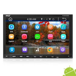 PYLE PLDNAND692.5 - Double DIN Android Headunit Stereo Receiver, Tablet-Style Functionality, 7'' Touchscreen Display Radio