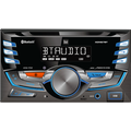 Dual Electronics XDM27BT LCD Double DIN Car Stereo Receiver with Bluetooth USB MP3 Siri/Google Assist Button
