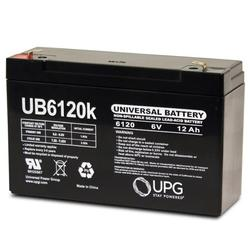 6V 12Ah Battery Replacement for WKA6-10F Genuine 6volt Battery