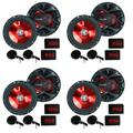 """""""BOSS Audio 6.5"""""""" 350W Car 2 Way Component Car Audio Speakers System (4 Pair)"""""""