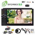 7 inch Android 9.0 Pie Car Radio Receiver in Dash 7 inch Car Stereo 2 Din Quad-core GPS Navigation Wifi Bluetooth Navi Sat Double Din Video Player Headunit USB/SD/1080P