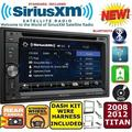SIRIUSXM SATELLITE RADIO TOUCHSCREEN BLUETOOTH USB CD/DVD CAR STEREO PKG