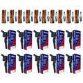 AD Auto Parts Coil Pack - 10 OEM Ignition Coils + 10 SP493 Spark Plugs Set