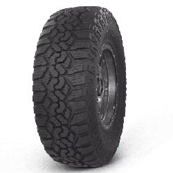 Kanati Trail Hog A/T 37X12.50R18 10 PR All-Terrain Light Truck Radial Tire (Tire Only)