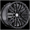 """17"""" Inch 5x112 Wheel Rim TSW MAX 17x8 +45mm BLACK"""