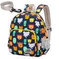 willikiva 3D Dinosaur Backpack Toddler Backpacks for Boys and Girls Kids Backpack Waterproof Preschool Safety Harness Leash (Rose)