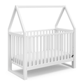 Storkcraft Orchard Canopy 5-in-1 Convertible Crib White/White