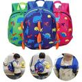 Knifun Cute Cartoon Dinosaur Baby Safety Harness Backpack Toddler Anti-lost Bag Children Schoolbag, Toddler Anti-lost Bag, Baby Safety Backpack