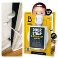 Door Buddy Child Proof Door Lock Plus Finger Pinch Guard Foam Door Stopper for Baby Proofing