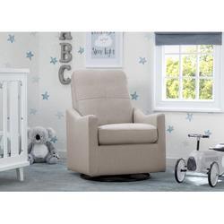 Delta Children Kenwood Nursery Glider Swivel Rocker Chair, Taupe