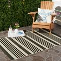 Safavieh Courtyard Caroline Striped Indoor/Outdoor Area Rug or Runner