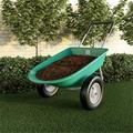 Pure Garden 50-LG1079 Pure 2-Wheeled Garden Wheelbarrow