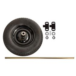 Ames TWKT Flat Free Single to Dual Universal Wheel Conversion Kit, For Use With Wheelbarrows