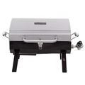 Char-Broil 200 Liquid Propane, (LP), Portable Stainless Steel Gas Grill