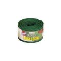 Warp's Easy-Edge LE-420-G Lawn Edging, 20 ft L, 4 in H, Plastic, Green 12 Pack