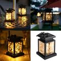 Solar LED Hanging Lantern Outdoor, Water Resistant Solar Copper Wire Hanging Night Light, Table Lamp, Lawn Décor Courtyard Landscape Lighting for Garden, Patio, Tent, Tree, Yard, Driveway Decoration