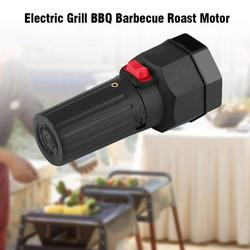 YOSOO Electric Grill Barbecue Roast Motor 1.5V Outdoor Camping Cordless Grill BBQ Rotisserie Grill Roast Motor Heavy Duty Barbecue Grill Rotisserie Motor Kit Black Color