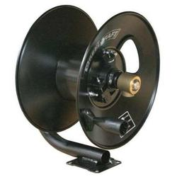 "Reelcraft 50 ft. Hand Crank Hose Reel, 3/8"" Hose Inside Dia. Black CT6050HN"
