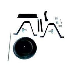 Mintcraft 33531 Parts With Black Tire Ld 6 Cubic Ft. Steel Wheelbarrow