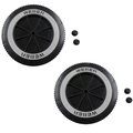 """Weber 65930 6"""" Replacement Wheel for Charcoal Grills (2 Pack)"""